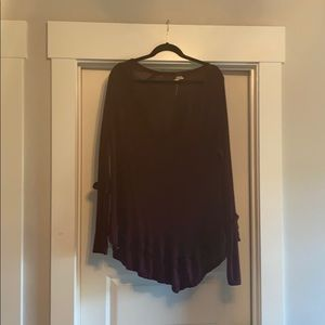Free People Long Sleeve Top size M